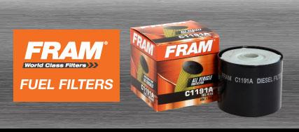 FRAM Fuel Filters
